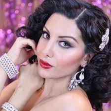pin up glam makeup tutorial