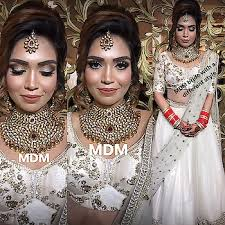 bridal makeup with a difference indian bride marrying a english man wanted a fusion