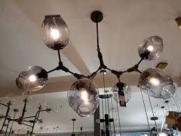 Großhandel Led Glas Kronleuchter Beleuchtung Moderner Lampe Neuheit Pendelleuchte Natürlicher Baumzweig Suspension Weihnachtslicht Hotel Speisesaal
