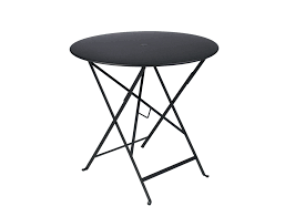 fermob bistro colourful designer metal folding round table fermob bistro table 60cm
