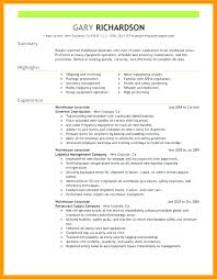 Duties Of A Warehouse Worker For Resume Nmdnconference Com