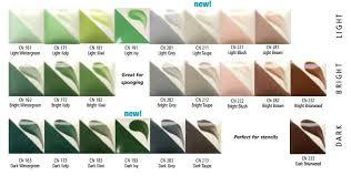 Duncan Concepts Color Chart Concepts Cn Portland Pottery