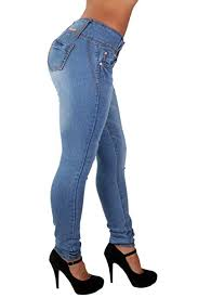 Colombian Ring Size Chart Colombian Design Mid Waist Butt Lift Plus Junior Size Skinny Jeans