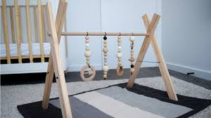 diy baby play gym make a stylish timber play gym for your baby