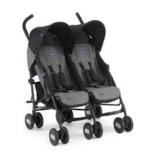 <b>Chicco</b> Echo Twin Stroller - <b>коляска для двойни</b> Coal купить в ...