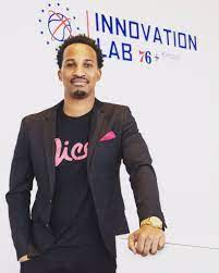 """Christian Crosby on Twitter: """"I stand today in the @sixers Innovation Lab  Crafted by @kimballoffice as Founder of @livelifenice. Dreams do come true!  [📸: @asubers3]… https://t.co/cdNx1hpW9r"""""""