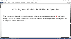 Direct Quotations In An Essay