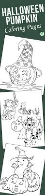 10 Cute Halloween Pumpkin Coloring Pages