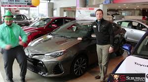Suburban Toyota Troy Corolla Specials St Patricks Day - YouTube