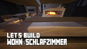 Minecraft Möbel Tutorial Modernes Wohn Schlafzimmer 3 Youtube