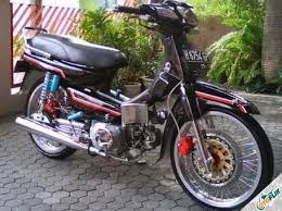 modifikasi motor legenda klasik trail