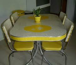 yellow retro kitchen table and chairs the nostalgic retro vintage with 1950 kitchen table and chairs