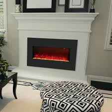 dynasty zero clearance led electric fireplace insert free to inch modern