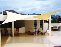 fabric patio shades. Interesting Patio Tension Shade Sail Complete Patio Cover 92201 Throughout Fabric Shades O
