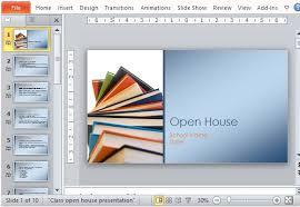 Teachers Powerpoint Templates Classroom Open House Presentation Template For Powerpoint