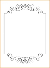 9 Blank Invitation Template Word Blank Invitation Template For Word