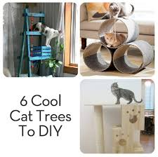 cool cat tree furniture. Roundup: 6 Very Cool And DIYable Cat Trees Tree Furniture