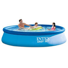 intex easy set pool. Intex 12ft X 30in Easy Set Pool With Filter Pump