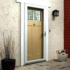 larson screen door storm door installation