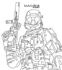 Small Picture Halo Reach Coloring Pages To Print Coloring pages Printable