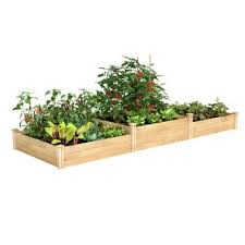 expandable cedar raised garden beds