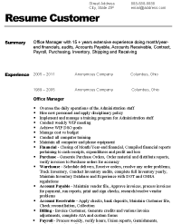 Before Version of Resume ...