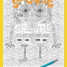 coloring book nickelodeon best spongebob coloring page coloring book nickelodeon refrence crayola art with edge nickelodeon 90s