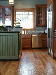 Wood Floor In The Kitchen 8 Flooring Trends To Try Hgtv
