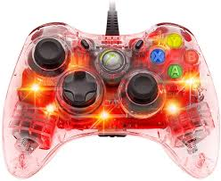 Light Up Xbox One Amazon Com Afterglow Wired Controller For Xbox 360 Red