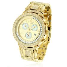 mens joe rodeo diamond watches 63% off at itshot com joe rodeo master diamond mens chronograph watch yellow gold plated 4 75ct