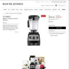 David Jones Kitchen Appliances Vitamix Professional Series 300 749 David Jones Website