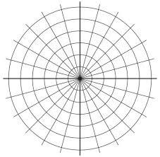 Circular Graph Paper Amazon Com Koala Tools Circular Grid Polar