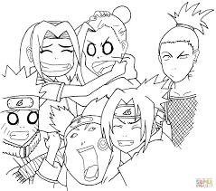Naruto Vs Sasuke Coloring Pages And Hoofardus