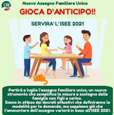 Assegno unico per i figli, al via da luglio 2021 : Fai Cisl Verona
