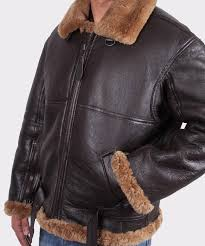 mens aviator leather jacket er flying jacket