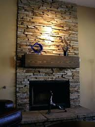 stone veneer fireplace photo 3 of 8 fireplaces installed by a better stacked surround stone veneer fireplace