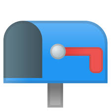 Image Flag Icon Archive Open Mailbox With Lowered Flag Icon Noto Emoji Objects