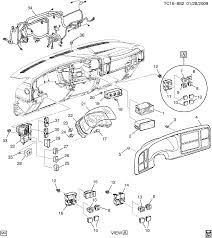 Gmc c3500 pickup hd chassis cab 4wd new style spare parts catalog epc