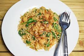 A popular malay style fried rice: Nasi Goreng Gila Aka Crazy Spicy Fried Rice