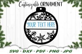 Free vector stock | stickerbombing. Customizable Snowflake Christmas Ornament Svg Dxf Cut Files 905858 Cut Files Design Bundles