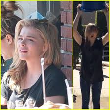 nathan kress ice bucket challenge. chloe moretz takes the ice bucket challenge after grabbing lunch with her brother! nathan kress d