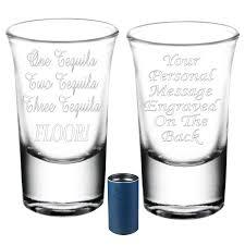 personalised novelty shot glass
