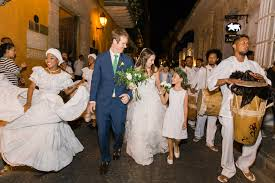Andrea Mosquera Swain And Brian Laks S Wedding In Cartagena Vogue