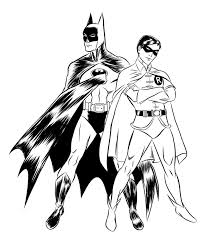 batman coloring pages coloringsuite in robin and