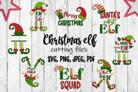 Elf family svg bundle includes 16 design with various elves of different ages, gender and family status. Christmas Elf Set Svg Cutting Files By Inkoly Thehungryjpeg Com