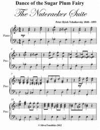 dance of the sugar plum fairy sheet music dance of the sugar plum fairy nutcracker suite elementary with