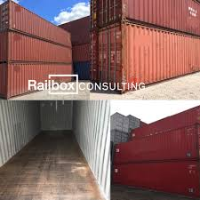 40' shipping container, 40' storage container, 20' container, 40'
