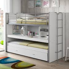 high bed with storage. Perfect High Bonny European Single High Sleeper Bed With Storage To With S