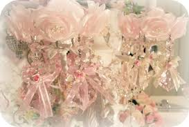 image 0 of crystal roses chandelier candle bobeches
