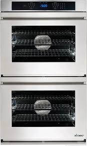 dacor rno230fs 30 inch double electric wall oven with 4 8 cu ft convection oven 6 cooking modes steam self clean bake element rapidheat broil